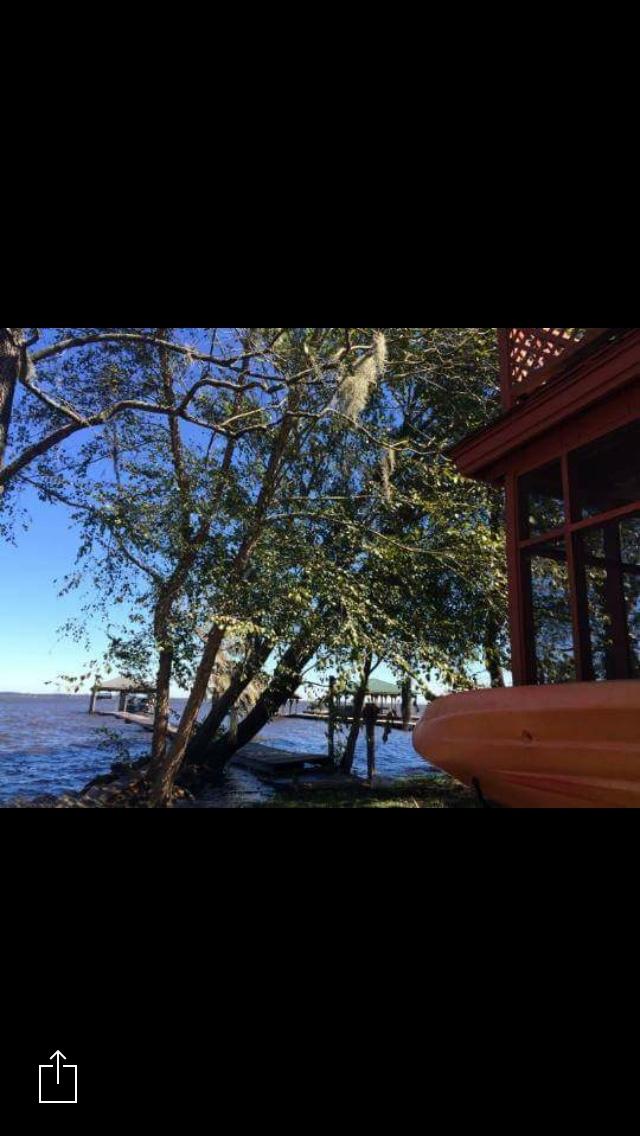 Lake Waccamaw rising